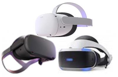 Oculus Quest<br>Oculus Quest 2<br>PlayStation VR